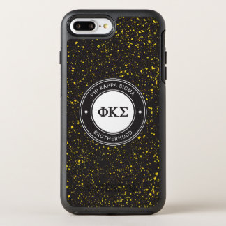 Capa Para iPhone 8 Plus/7 Plus OtterBox Symmetry Crachá do Sigma | do Kappa da phi