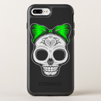 Capa Para iPhone 8 Plus/7 Plus OtterBox Symmetry Crânio do açúcar