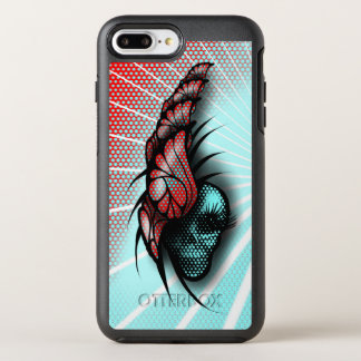 Capa Para iPhone 8 Plus/7 Plus OtterBox Symmetry Crânio e borboletas