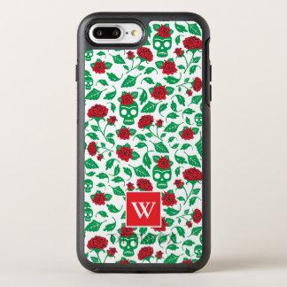 Capa Para iPhone 8 Plus/7 Plus OtterBox Symmetry Crânios & rosas de Frida Kahlo |