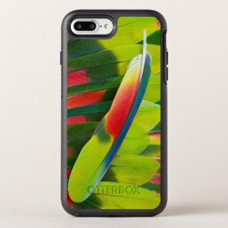 Capa Para iPhone 8 Plus/7 Plus OtterBox Symmetry De Amazon do papagaio da pena vida ainda
