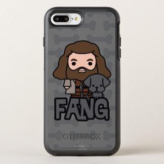 Capa Para iPhone 8 Plus/7 Plus OtterBox Symmetry Desenhos animados Hagrid e arte do caráter do