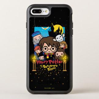 Capa Para iPhone 8 Plus/7 Plus OtterBox Symmetry Desenhos animados Harry Potter e a pedra do