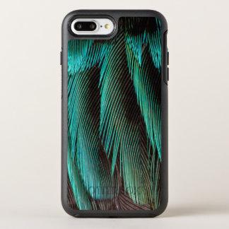 Capa Para iPhone 8 Plus/7 Plus OtterBox Symmetry Design azul e preto da pena