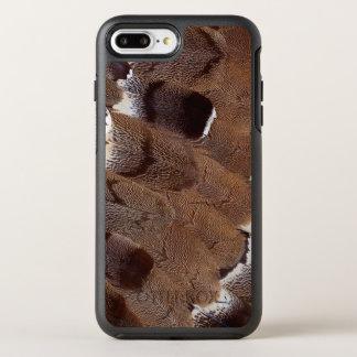 Capa Para iPhone 8 Plus/7 Plus OtterBox Symmetry Design da pena de Brown