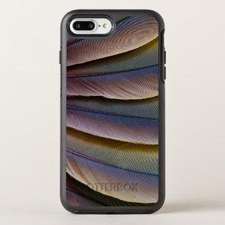 Capa Para iPhone 8 Plus/7 Plus OtterBox Symmetry Design da pena do Macaw de Buffon