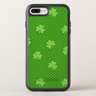Capa Para iPhone 8 Plus/7 Plus OtterBox Symmetry Dia verde de Patricks do santo do teste padrão do