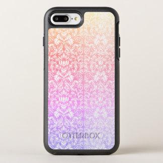 Capa Para iPhone 8 Plus/7 Plus OtterBox Symmetry Doces doces Kawaii de Lolita do damasco Pastel