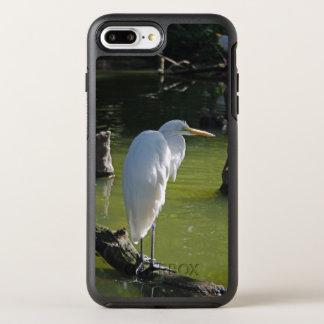 Capa Para iPhone 8 Plus/7 Plus OtterBox Symmetry Egret branco