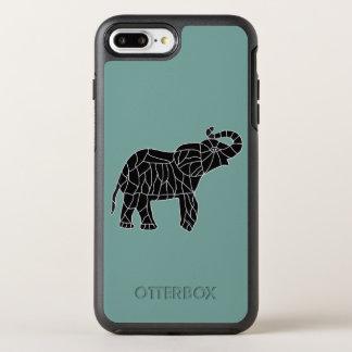 Capa Para iPhone 8 Plus/7 Plus OtterBox Symmetry Elefante afortunado