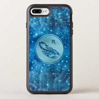 Capa Para iPhone 8 Plus/7 Plus OtterBox Symmetry Elemento da água do sinal do zodíaco da Escorpião