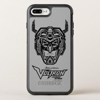 Capa Para iPhone 8 Plus/7 Plus OtterBox Symmetry Esboço fraturado cabeça de Voltron   Voltron