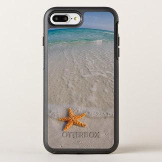 Capa Para iPhone 8 Plus/7 Plus OtterBox Symmetry Estrela do mar na praia