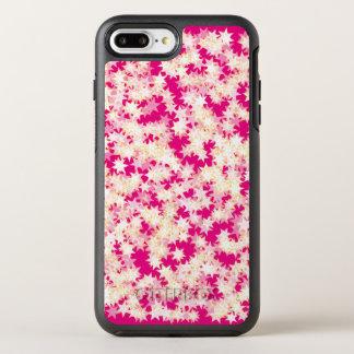 Capa Para iPhone 8 Plus/7 Plus OtterBox Symmetry Estrelas cor-de-rosa de néon do amarelo do creme