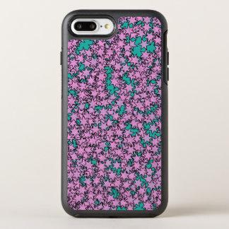 Capa Para iPhone 8 Plus/7 Plus OtterBox Symmetry Estrelas verdes roxas de néon de turquesa