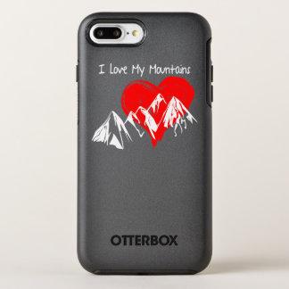 Capa Para iPhone 8 Plus/7 Plus OtterBox Symmetry Eu amo minhas montanhas!
