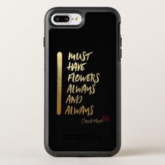 CAPA PARA iPhone 8 PLUS/7 PLUS OtterBox SYMMETRY EU DEVO TER FLORES SEMPRE E SEMPRE…. IPHONE C