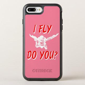 Capa Para iPhone 8 Plus/7 Plus OtterBox Symmetry Eu vôo, faz você? (branco)