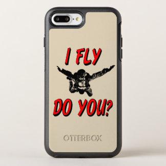 Capa Para iPhone 8 Plus/7 Plus OtterBox Symmetry Eu vôo, faz você? (preto)