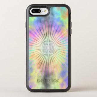 Capa Para iPhone 8 Plus/7 Plus OtterBox Symmetry Explosão da estrela do halo do arco-íris