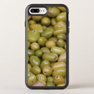 Capa Para iPhone 8 Plus/7 Plus OtterBox Symmetry Feche acima das azeitonas verdes
