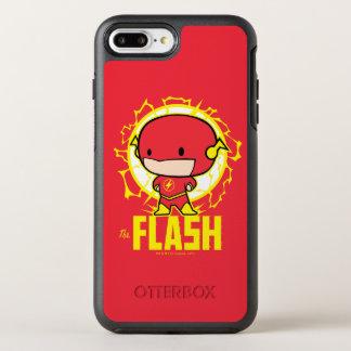 Capa Para iPhone 8 Plus/7 Plus OtterBox Symmetry Flash de Chibi com eletricidade
