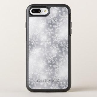 Capa Para iPhone 8 Plus/7 Plus OtterBox Symmetry Flocos de neve e luzes