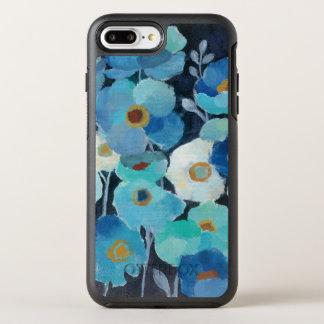 Capa Para iPhone 8 Plus/7 Plus OtterBox Symmetry Flores do índigo