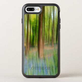 Capa Para iPhone 8 Plus/7 Plus OtterBox Symmetry Floresta BRITÂNICA do carvalho do Bluebell de