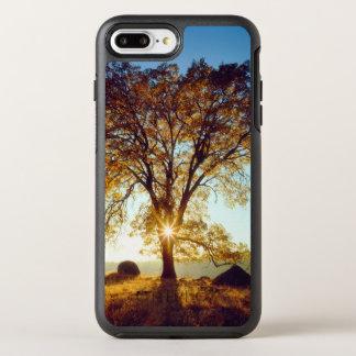 Capa Para iPhone 8 Plus/7 Plus OtterBox Symmetry Floresta nacional preta dos carvalhos | Cleveland,