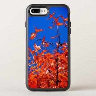 Capa Para iPhone 8 Plus/7 Plus OtterBox Symmetry Folhas de bordo