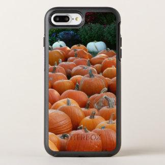 Capa Para iPhone 8 Plus/7 Plus OtterBox Symmetry Fotografia da colheita do outono das abóboras e