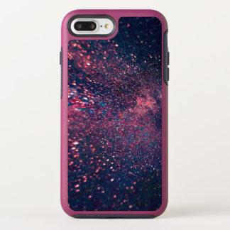 Capa Para iPhone 8 Plus/7 Plus OtterBox Symmetry Galáxia Bokeh do brilho