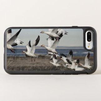 Capa Para iPhone 8 Plus/7 Plus OtterBox Symmetry Gansos de neve transportados por via aérea
