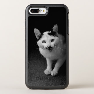 Capa Para iPhone 8 Plus/7 Plus OtterBox Symmetry Gato com bigode