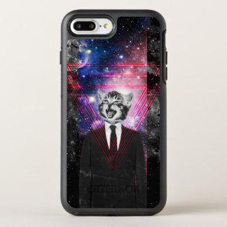 Capa Para iPhone 8 Plus/7 Plus OtterBox Symmetry Gato de Illuminati