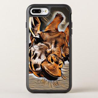 Capa Para iPhone 8 Plus/7 Plus OtterBox Symmetry Girafa de ArtAnimal