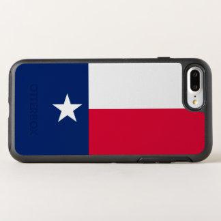 Capa Para iPhone 8 Plus/7 Plus OtterBox Symmetry Gráfico dinâmico da bandeira do estado de Texas em