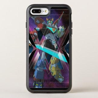 Capa Para iPhone 8 Plus/7 Plus OtterBox Symmetry Gráfico Intergalactic de Voltron | Voltron
