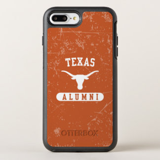 Capa Para iPhone 8 Plus/7 Plus OtterBox Symmetry Grunge dos alunos dos Longhorns da Universidade do
