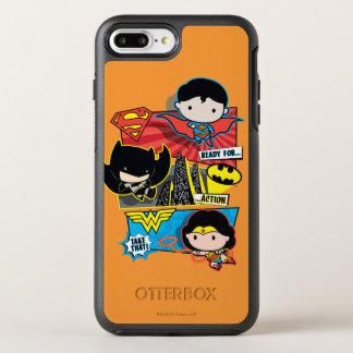 Capa Para iPhone 8 Plus/7 Plus OtterBox Symmetry Heróis de Chibi prontos para a ação!