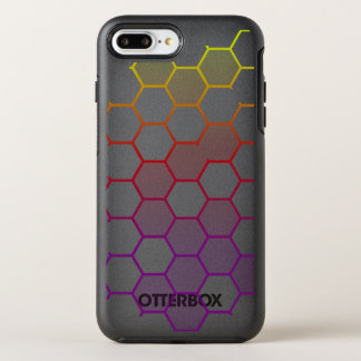Capa Para iPhone 8 Plus/7 Plus OtterBox Symmetry Hex da cor com cinza
