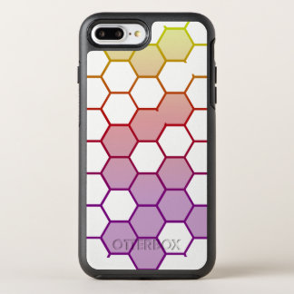 Capa Para iPhone 8 Plus/7 Plus OtterBox Symmetry Hex da cor no branco