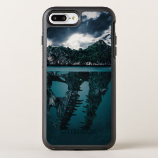 Capa Para iPhone 8 Plus/7 Plus OtterBox Symmetry Ilha artística da fantasia abstrata