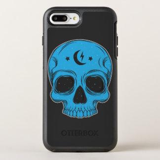 Capa Para iPhone 8 Plus/7 Plus OtterBox Symmetry Ilustração artística do crânio
