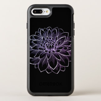 Capa Para iPhone 8 Plus/7 Plus OtterBox Symmetry Ilustração de florescência da flor