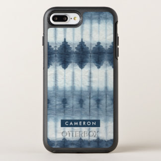 Capa Para iPhone 8 Plus/7 Plus OtterBox Symmetry Impressão de Shibori Indigio