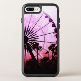 Capa Para iPhone 8 Plus/7 Plus OtterBox Symmetry iPhone (cor-de-rosa) da roda de Ferris 8/7 de caso