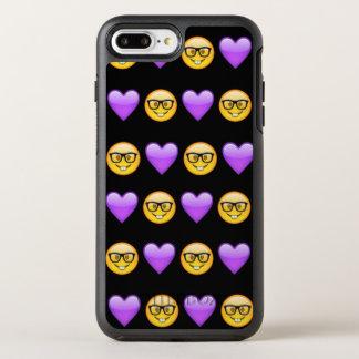 Capa Para iPhone 8 Plus/7 Plus OtterBox Symmetry iPhone de Emoji do nerd 8/7 de caso positivo de