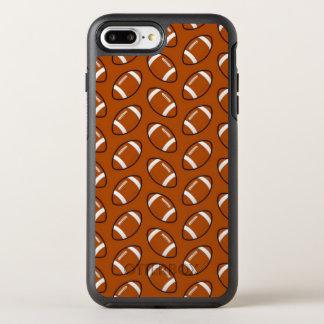Capa Para iPhone 8 Plus/7 Plus OtterBox Symmetry iPhone do teste padrão do futebol 8/7 de caso